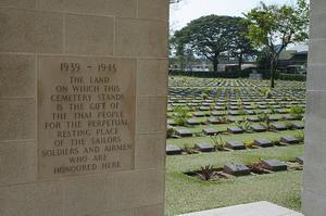 War Cemetery Kanchanaburi Thailand