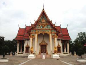 Wat Phra Thaen Dong Rang Kanchanaburi Thailand