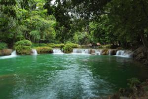 Chet Sao Noi Waterfall Saraburi Thailand