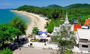 Hat Sai Ri Chumphon Thailand