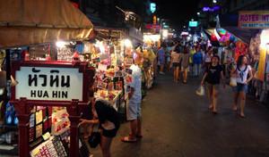 Hua Hin Night Market Prachuap Khiri Khan Thailand