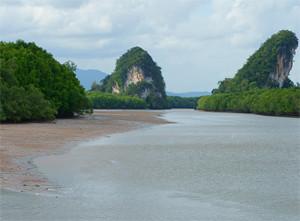 Khao Khanap Nam Krabi Thailand
