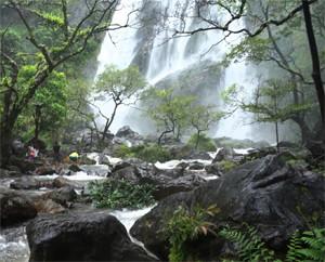 Khlong Lan Waterfall Kamphaeng Phet Thailand