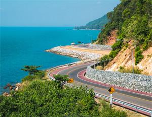 Kung Wiman Beach Chanthaburi Thailand