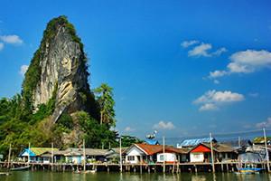 Koh Panyi Phang Nga Thailand