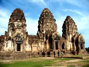 Phra Prang Sam Yot Lopburi Thailand