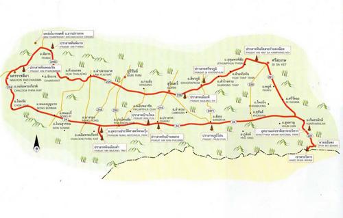 Nakhon Ratchasima Map Thailand