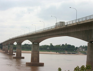 Thai–Lao Friendship Bridge Nong Khai Thailand