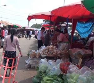 Doi Muser Hill Tribe Market Tak Thailand