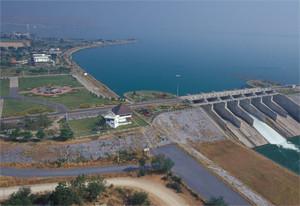 Pa Sak Jolasid Dam Lopburi Thailand