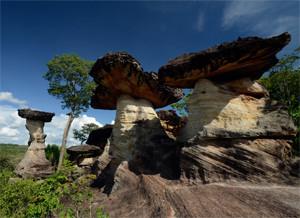 Pha Taem National Park Ubon Ratchathani Thailand