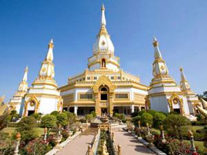 Phra Maha Chedi Chai Mongkol Roi Et Thailand