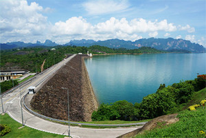 Ratchaprapha Dam Surat Thani Thailand