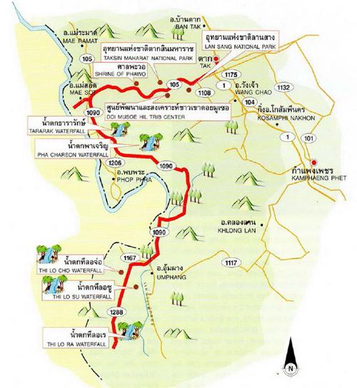 Tak Map Thailand