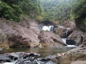Than Mayom Waterfall Koh Chang Trat Thailand