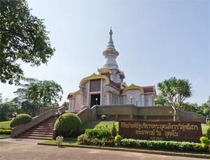Achan Wan Uttamo Museum Sakon Nakhon Thailand