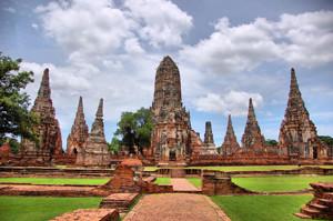 Wat Chaiwatthanaram Ayutthaya Thailand