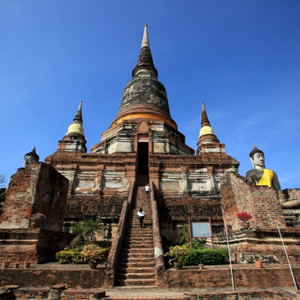 Wat Yai Chai Mongkhon Phra Nakhon Si Ayutthaya Thailand